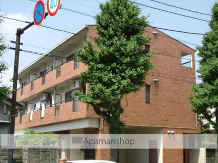 神奈川県相模原市中央区、淵野辺駅バス7分相生3丁目停下車後徒歩3分の築28年 3階建の賃貸マンション