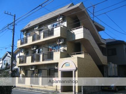 神奈川県相模原市中央区、淵野辺駅徒歩21分の築28年 3階建の賃貸マンション