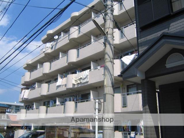 神奈川県相模原市中央区、淵野辺駅徒歩22分の築28年 5階建の賃貸マンション