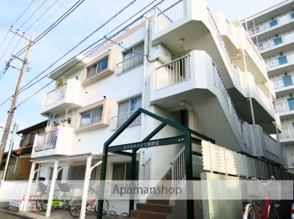 神奈川県相模原市中央区、淵野辺駅徒歩17分の築28年 4階建の賃貸マンション