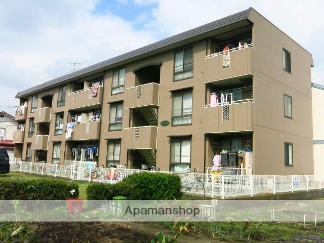 神奈川県相模原市中央区、矢部駅徒歩32分の築27年 3階建の賃貸マンション
