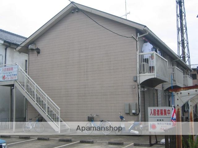 神奈川県相模原市中央区、淵野辺駅徒歩25分の築28年 2階建の賃貸アパート