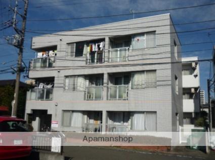 神奈川県相模原市中央区、淵野辺駅徒歩16分の築28年 3階建の賃貸マンション