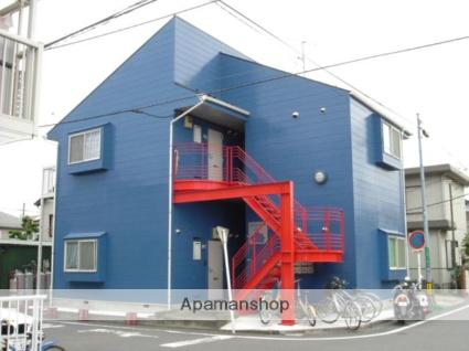 神奈川県相模原市中央区、淵野辺駅徒歩17分の築24年 2階建の賃貸アパート