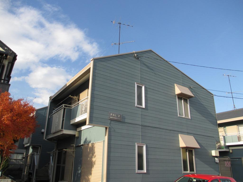 神奈川県相模原市中央区、古淵駅徒歩17分の築30年 2階建の賃貸アパート