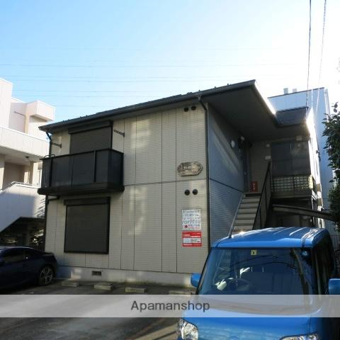 神奈川県相模原市中央区、古淵駅徒歩28分の築18年 2階建の賃貸アパート
