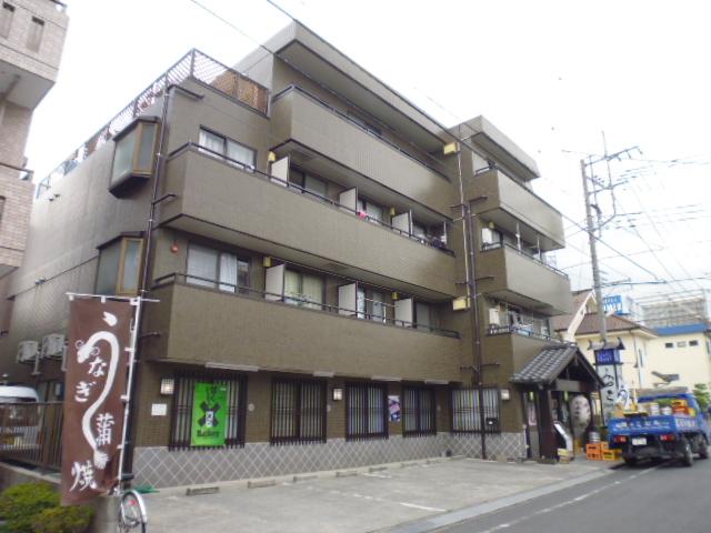 神奈川県相模原市中央区、淵野辺駅徒歩10分の築25年 4階建の賃貸マンション