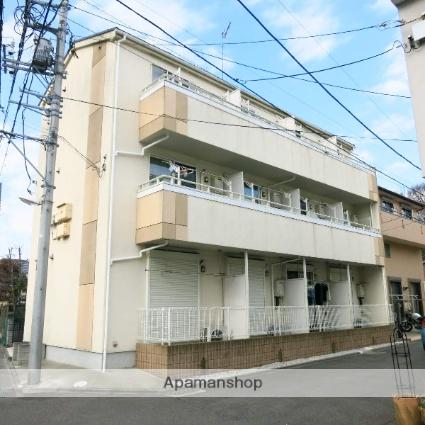 神奈川県相模原市中央区、番田駅徒歩20分の築8年 3階建の賃貸アパート