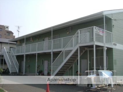 神奈川県相模原市南区、町田駅徒歩40分の築25年 2階建の賃貸アパート