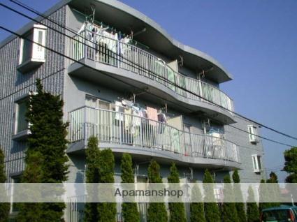 神奈川県相模原市中央区、淵野辺駅徒歩13分の築28年 3階建の賃貸マンション