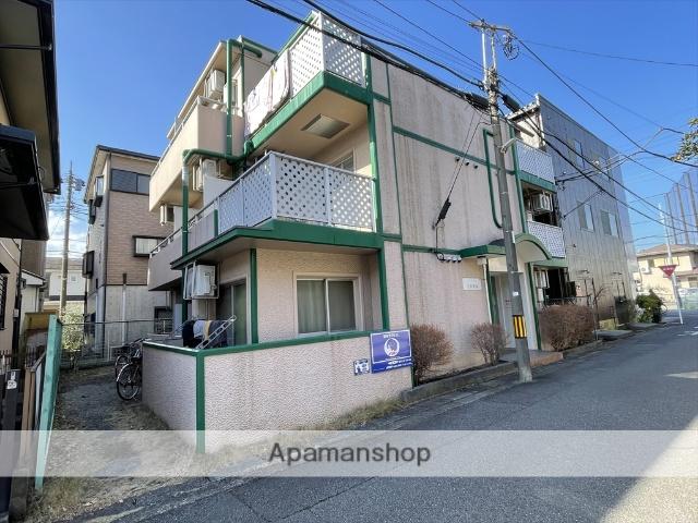神奈川県相模原市中央区、相模原駅徒歩10分の築29年 3階建の賃貸マンション