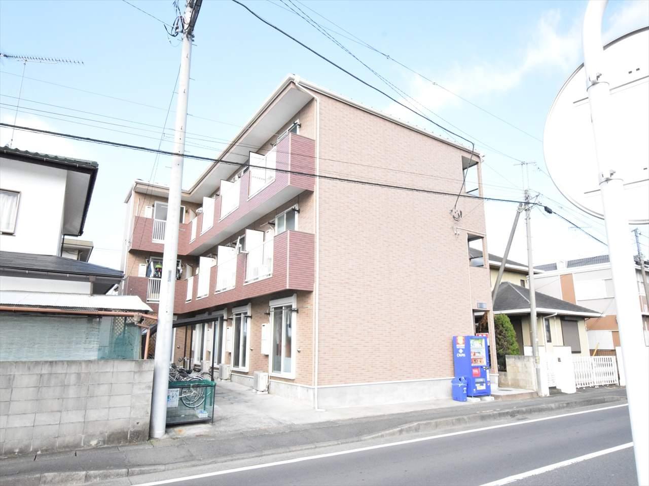 神奈川県相模原市中央区、相模原駅徒歩12分の築5年 3階建の賃貸アパート
