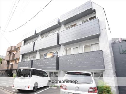 神奈川県相模原市中央区、相模原駅徒歩10分の築27年 3階建の賃貸マンション