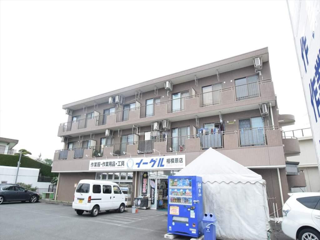 神奈川県相模原市中央区、相模原駅バス5分清新六丁目下車後徒歩4分の築21年 3階建の賃貸マンション