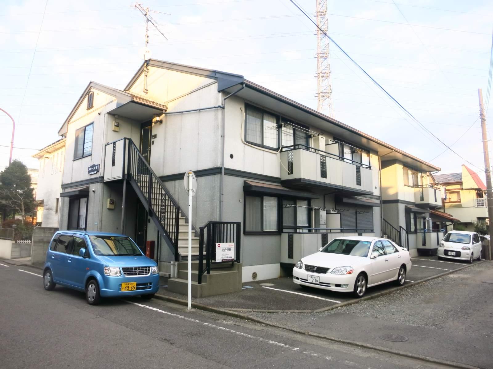 神奈川県相模原市中央区、相模原駅徒歩13分の築21年 2階建の賃貸アパート