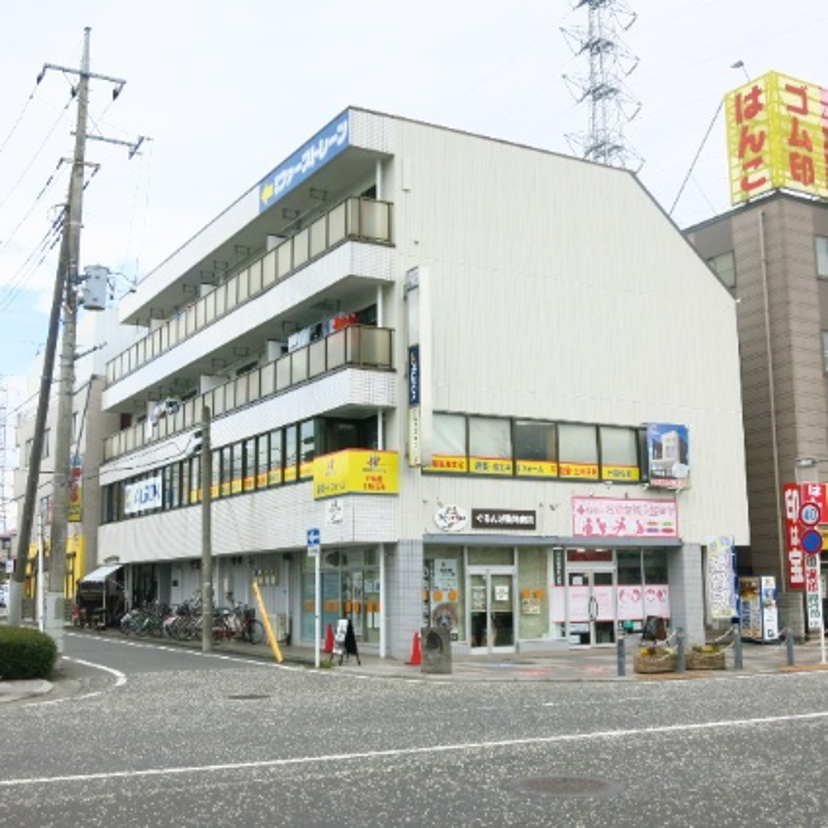 神奈川県相模原市中央区、矢部駅徒歩26分の築29年 4階建の賃貸マンション