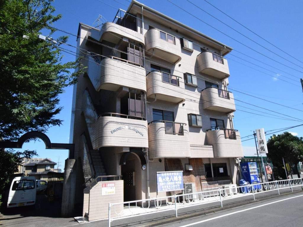 神奈川県相模原市中央区、淵野辺駅バス8分星が丘下車後徒歩2分の築28年 4階建の賃貸マンション