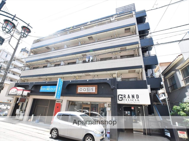 神奈川県相模原市中央区、相模原駅徒歩29分の築28年 7階建の賃貸マンション