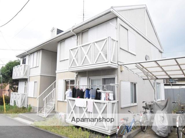 神奈川県相模原市緑区、橋本駅バス13分作の口下車後徒歩3分の築24年 2階建の賃貸アパート