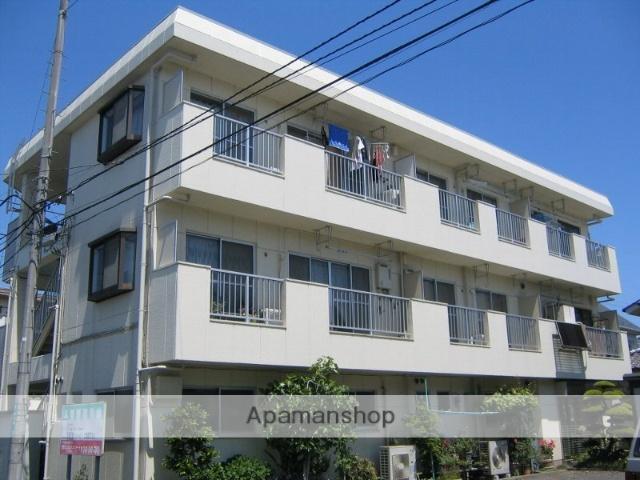 神奈川県相模原市中央区、相模原駅徒歩8分の築28年 3階建の賃貸マンション