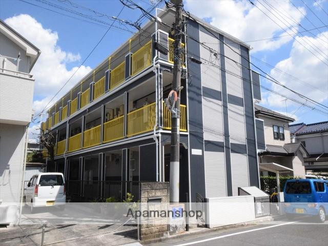 神奈川県相模原市中央区、番田駅徒歩8分の築9年 3階建の賃貸アパート
