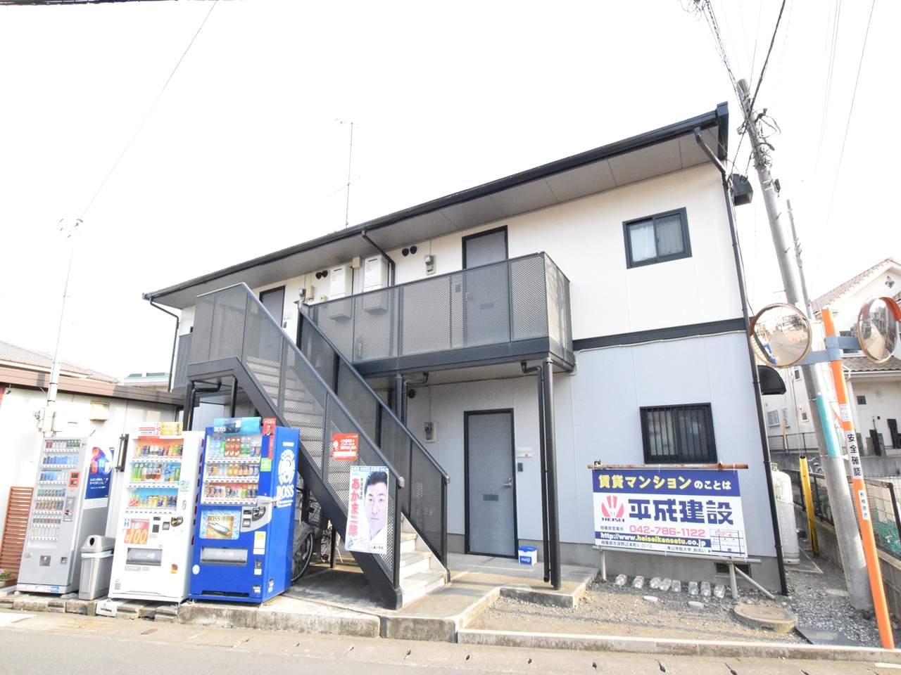 神奈川県相模原市中央区、上溝駅徒歩12分の築20年 2階建の賃貸アパート