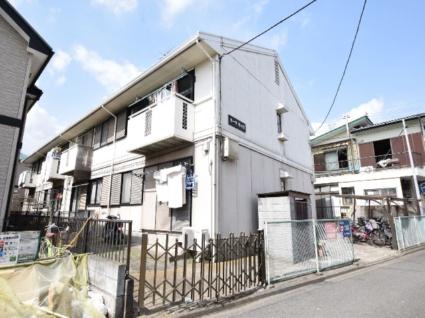 神奈川県相模原市中央区、淵野辺駅バス10分光が丘大通り下車後徒歩2分の築30年 2階建の賃貸アパート