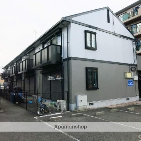 神奈川県相模原市中央区、相模原駅バス10分横山小下車後徒歩8分の築23年 2階建の賃貸アパート
