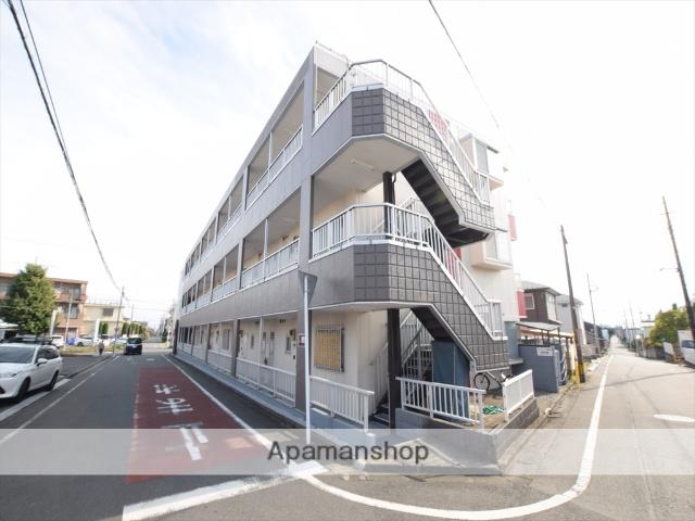 神奈川県相模原市中央区、相模原駅徒歩17分の築28年 3階建の賃貸マンション