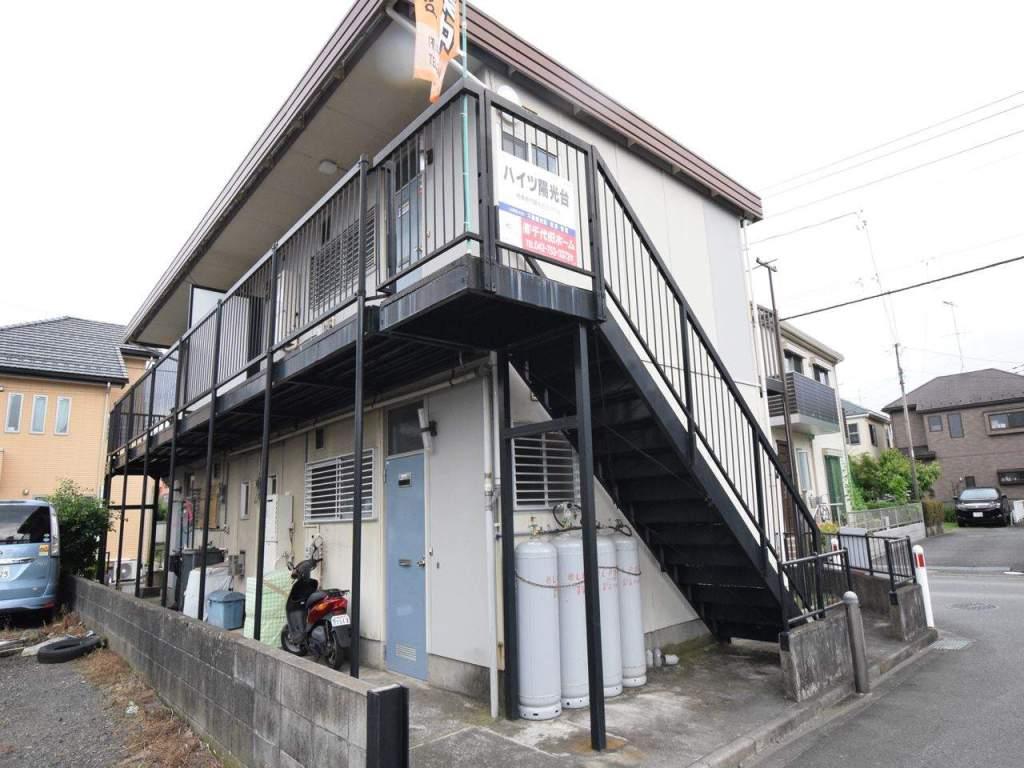 神奈川県相模原市中央区、淵野辺駅バス10分技術高校前下車後徒歩5分の築32年 2階建の賃貸アパート