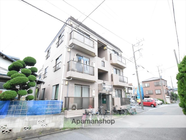 神奈川県相模原市中央区、相模原駅徒歩8分の築26年 3階建の賃貸マンション