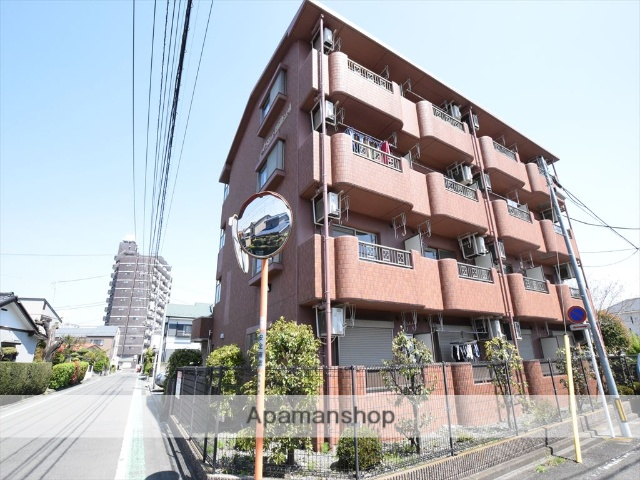 神奈川県相模原市中央区、矢部駅徒歩27分の築13年 4階建の賃貸マンション