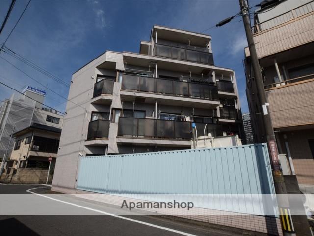 神奈川県相模原市中央区、矢部駅徒歩25分の築27年 4階建の賃貸マンション