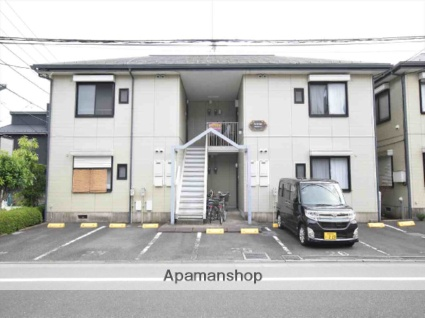 神奈川県相模原市中央区、淵野辺駅バス10分光が丘小学校前下車後徒歩1分の築23年 2階建の賃貸アパート