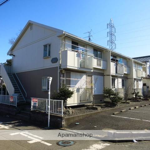 神奈川県相模原市緑区、橋本駅バス15分上の原下車後徒歩5分の築25年 2階建の賃貸アパート