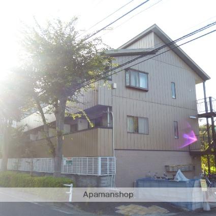 東京都八王子市、京王堀之内駅徒歩42分の築23年 3階建の賃貸アパート