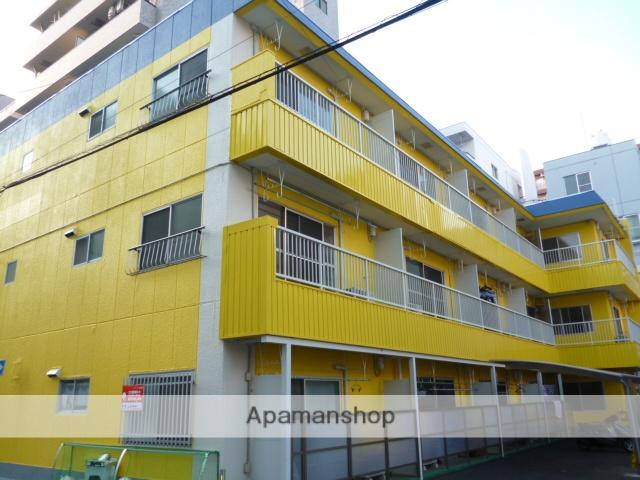 神奈川県相模原市中央区、淵野辺駅徒歩30分の築35年 3階建の賃貸マンション