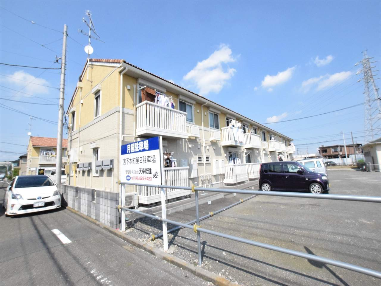 神奈川県相模原市中央区、相模原駅徒歩25分の築6年 2階建の賃貸アパート