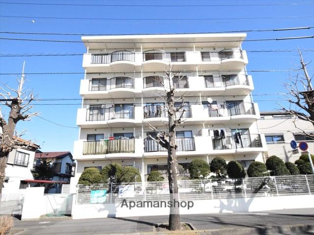 神奈川県相模原市中央区、相模原駅徒歩16分の築28年 5階建の賃貸マンション