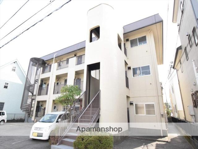 神奈川県相模原市中央区、相模原駅徒歩12分の築39年 3階建の賃貸マンション