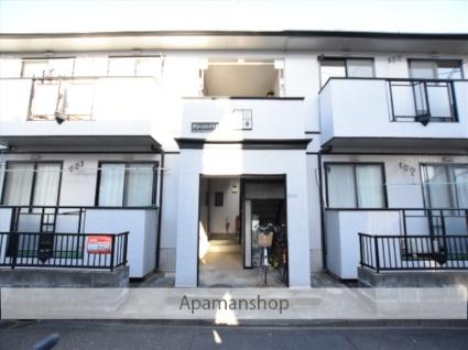 神奈川県相模原市中央区、相模原駅徒歩17分の築22年 2階建の賃貸アパート