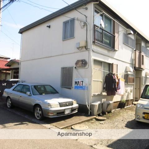 神奈川県相模原市緑区、橋本駅バス20分榎戸下車後徒歩2分の築32年 2階建の賃貸アパート