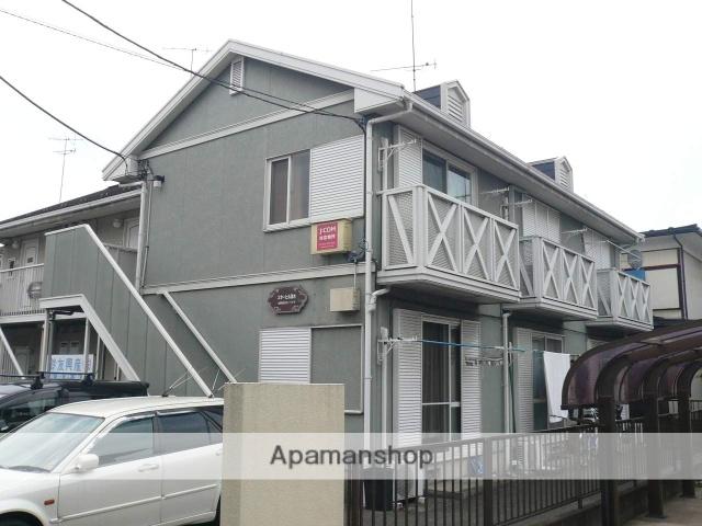 神奈川県相模原市中央区、相模原駅バス10分星が丘住宅前下車後徒歩3分の築25年 2階建の賃貸アパート