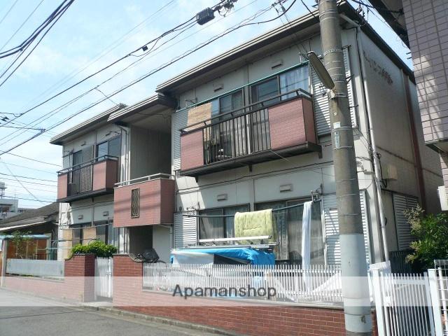 神奈川県相模原市中央区、相模原駅徒歩13分の築33年 2階建の賃貸アパート