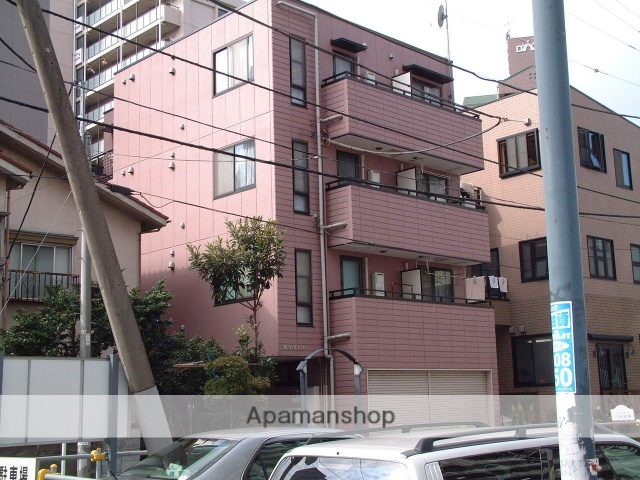 神奈川県相模原市緑区、橋本駅徒歩3分の築18年 4階建の賃貸マンション