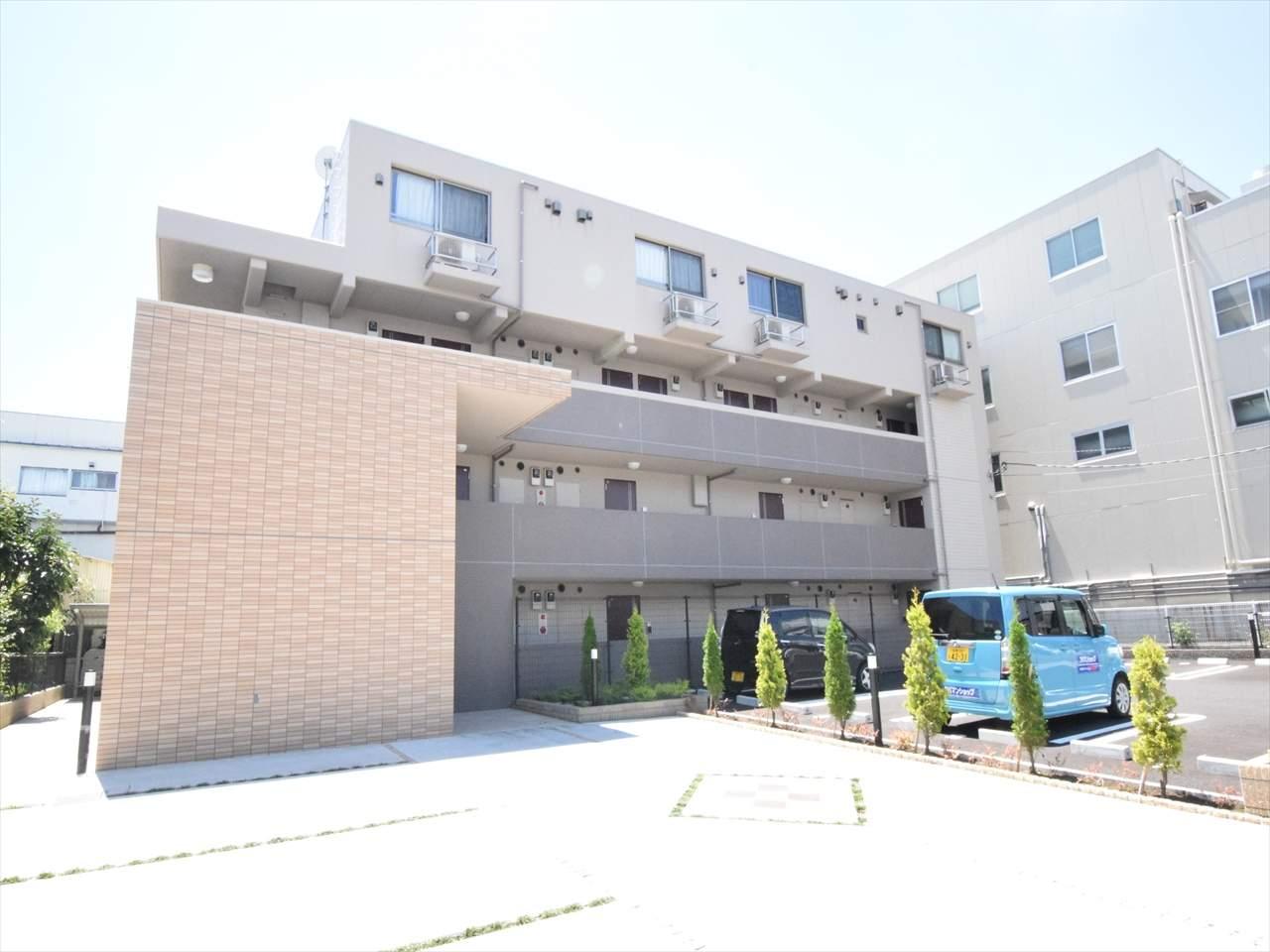 神奈川県相模原市中央区、相模原駅徒歩28分の築2年 4階建の賃貸マンション