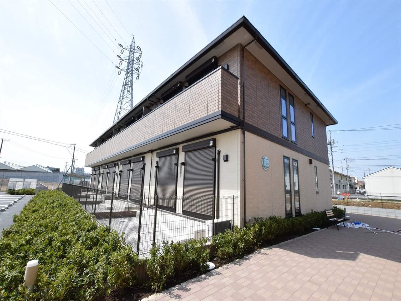 神奈川県相模原市中央区、相模原駅徒歩25分の新築 2階建の賃貸アパート