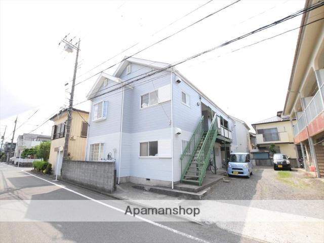 神奈川県相模原市中央区、相模原駅徒歩15分の築31年 2階建の賃貸アパート