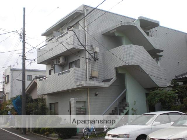 神奈川県相模原市中央区、相模原駅徒歩5分の築28年 3階建の賃貸マンション