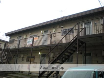 神奈川県相模原市中央区、相模原駅徒歩24分の築30年 2階建の賃貸アパート